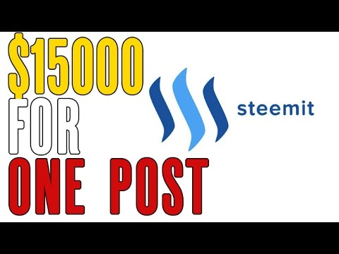 How I made $15,000 in 12 Hours on Steemit, the New Blockchain Based Social Media Platform