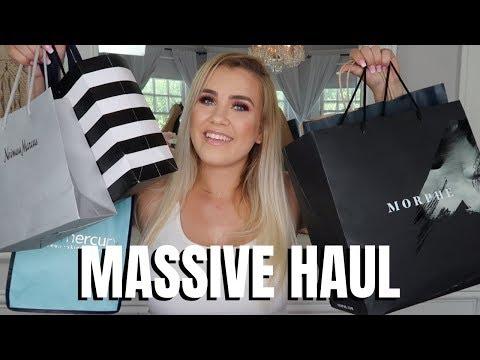 MASSIVE MAKEUP HAUL - La Mer, Sephora, Morphe & MORE   Paige Koren thumbnail