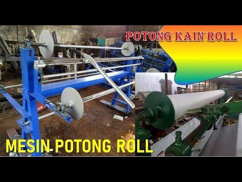 Video Mesin Potong Kain Roll