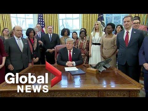 Trump pledges $50 million to support global women's development