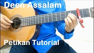 Belajar Gitar Deen Assalam (Petikan)