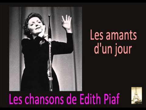 Edith Piaf - Les Amants D'un Jour