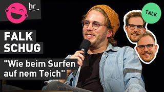 Falk Schug moderiert Bubbles bei funk