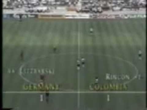 Colombia 1 alemania 1 Italia 90 Edgar Perea Audio Mejorado