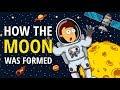 How the moon was formed(Secrets of science series#2)(Lawir cartoon)