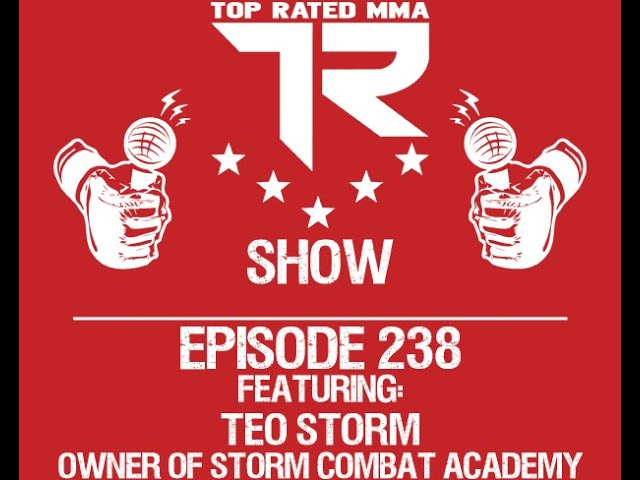 Ep. 238 - Teo Storm - Storm Combat Academy - Stand Up For Spokane Event to help end Domestic Abuse