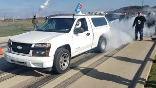 LS swapped Turbo Chevy Colorado versus Nitrous Fox body