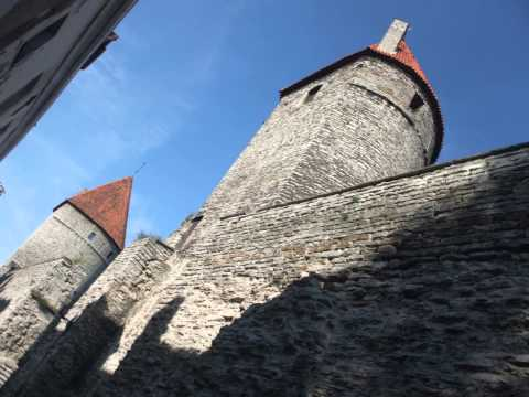 Way to Tallinn Old Town with travel info Part 1.