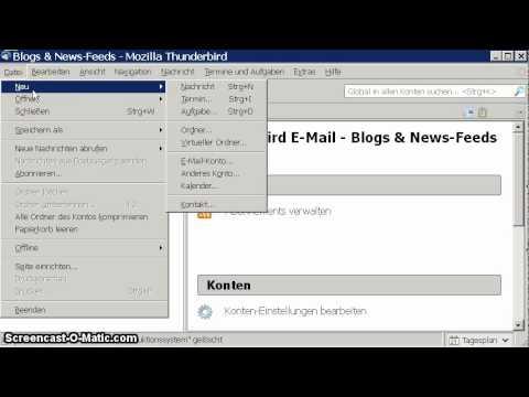 ILIAS - Privaten Webfeed abonnieren (RSS)