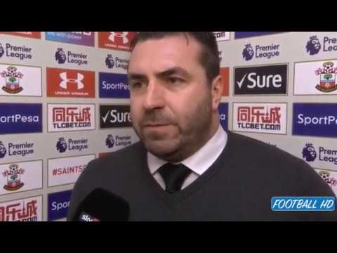 Unsworth on losing to Southampton  'I can't stand here and defend the players today'