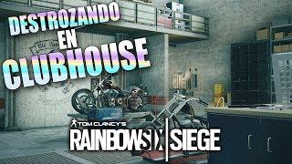 Video de RAINBOW SIX SIEGE | DOBLE RANKED EN CLUBHOUSE Y PARQUE DE ATRACCIONES!! | Stratus