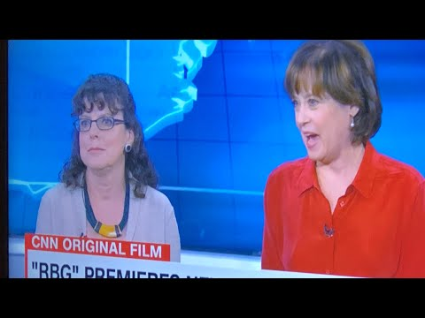 """Julie Cohen And Betsy West, Makers Of """"RGB"""" Movie Interviewed By Anderson Cooper On CNN"""