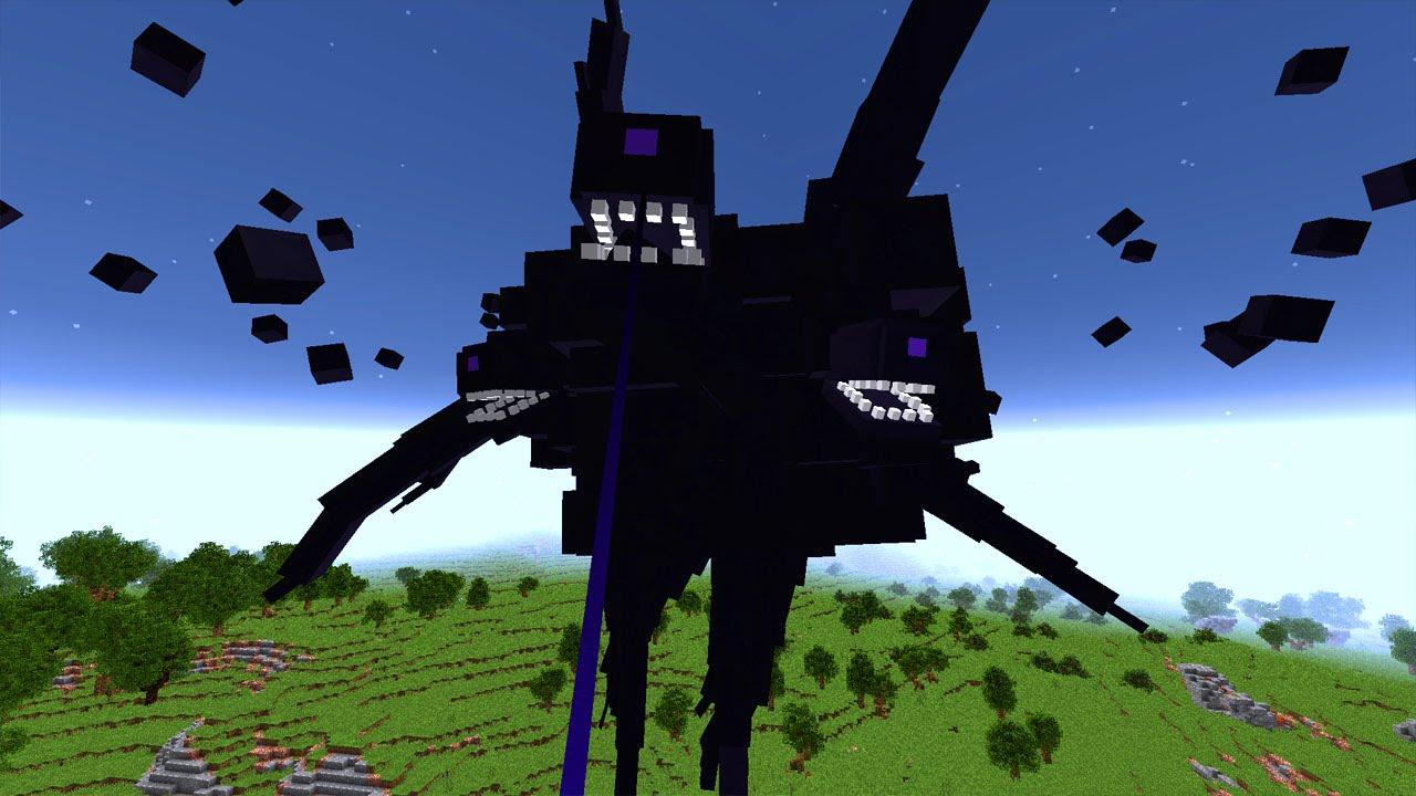 Witherstorm Boss in Minecraft Vanilla! - Minecraft Map