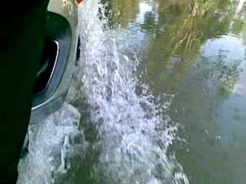 Aprilia Pegaso 650 at deep water
