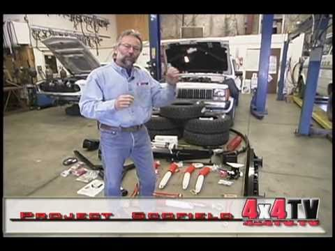 Installing the SkyJacker Lift on Jeep Cherokee - 4x4TV Project part 5