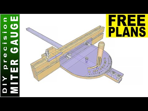 Making Precision Miter Gauge   FREE PLANS  Don't Repeat My Mistakes