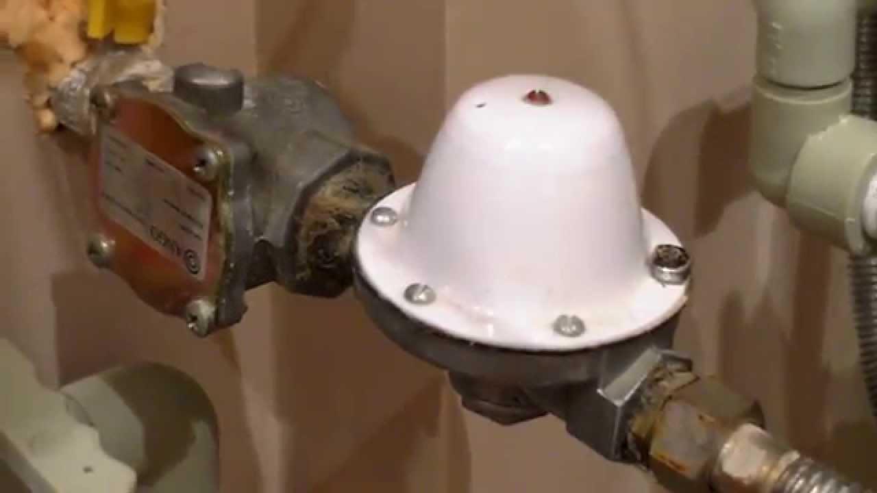регулятор давления газа перед котлом