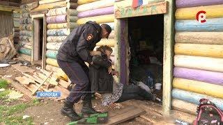 Агрессивные бомжи беспокоят жителей района Ковырино