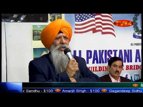Dr.Amarjit Singh talking about plight of minorities in India & justice for Asifa