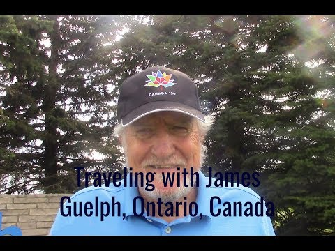 Traveling with James Guelph, Ontario, Canada