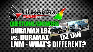 Duramax LBZ & LMM - WHAT'S THE DIFFERENCE? by Duramaxtuner.COM