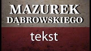 mazurek dąbrowskiego