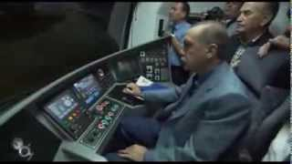 Prime Minister Erdogan 150 Annual Dream Marmaray first Test Drive