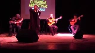 Juanjo Dominguez en el Festival Guitarras Argentinas 2012