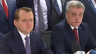 Россия и Польша возобновят автомобильные перевозки в ограниченном режиме(Россия и Польша договорились продлить до 15 апреля переходный период, во время которого грузоперевозки..., 2016-02-19T15:08:17.000Z)