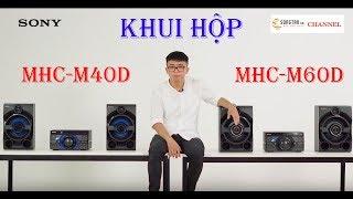 Khui hộp Dàn âm thanh Sony MHC-V40D và MHC-V60D - www.songtan.vn