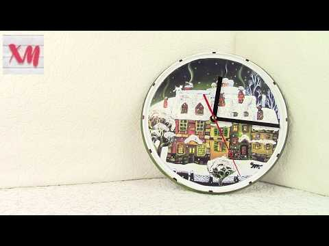 Часы из пластиковой крышки - ЛЕГКО/ Watch from a plastic cover. ХоббиМаркет