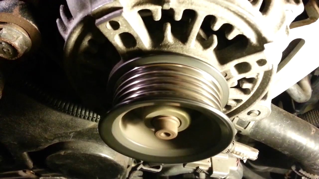 Engine noise at idle  timing belt pulley bearings? | Toyota