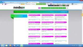 how to open a neobux account and  earn money by neobux PTC tutorial