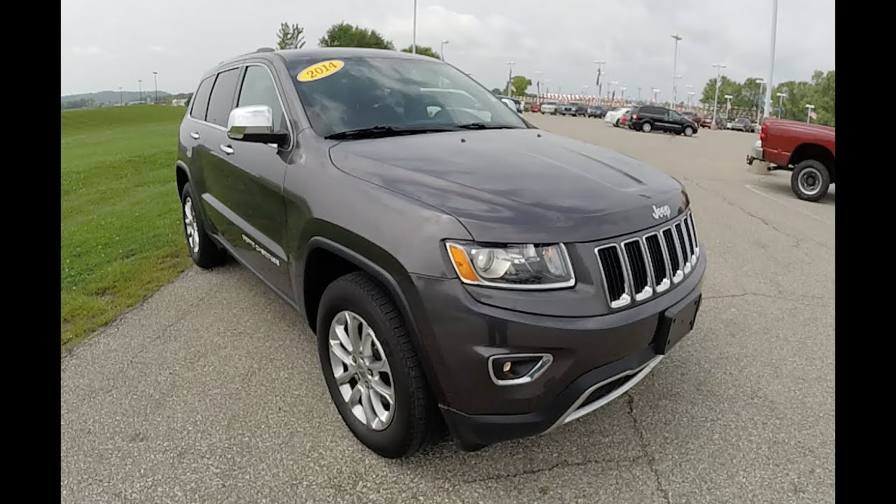 2014 jeep grand cherokee limited granite 8 speed transmission p9836 youtube. Black Bedroom Furniture Sets. Home Design Ideas