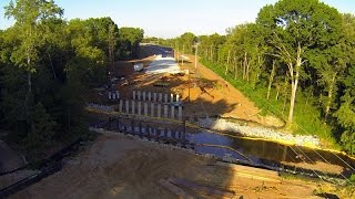 Old Madison Pike Road Construction Overflight:13 August 14