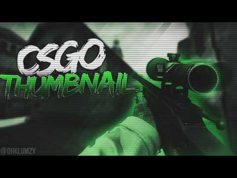 CSGO Thumbnail Template