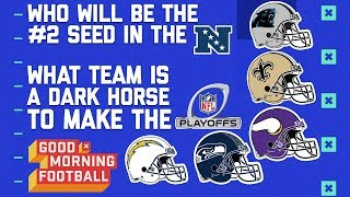 NFL Playoffs: Who is the #2 Seed in the NFC & What Team is a Dark Horse for a Wild Card? | GMFB