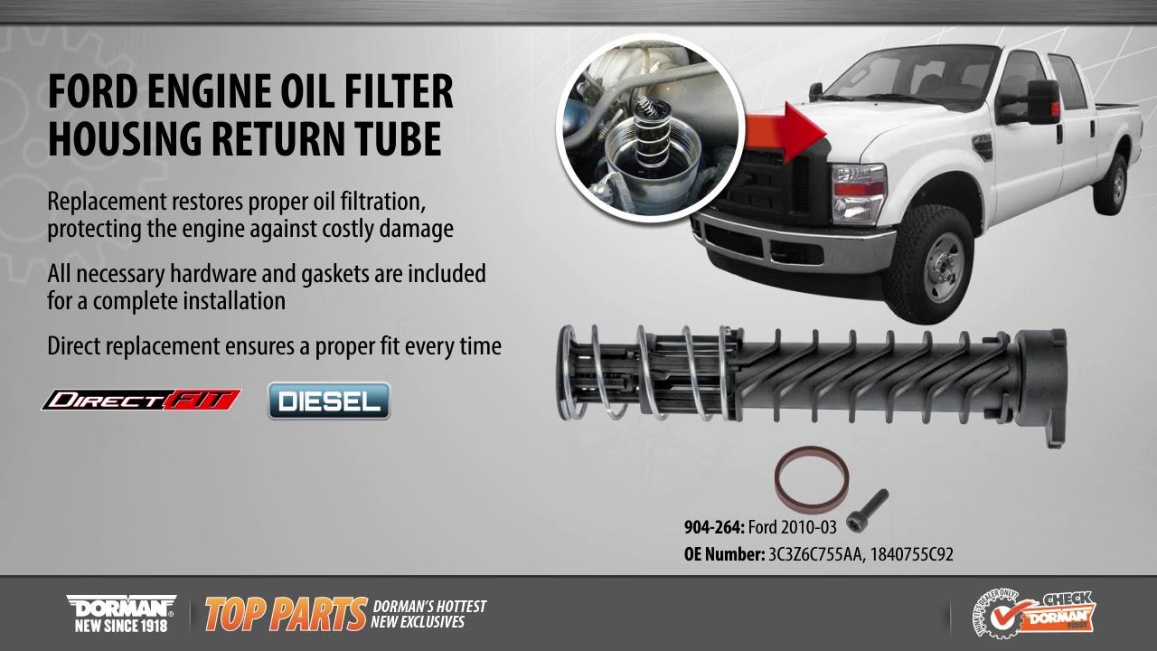 go Motorcraft Fuel Pump Gasket for 2008-2010 Ford F-250 Super Duty 6.4L V8