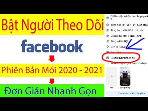 cách hack lượt theo dõi trên facebook bằng máy tính - Cách Bật Theo Dõi Trên Facebook Bằng Điện Thoại | Bật Theo Dõi Trên Facebook Giao Diện Mới 2020