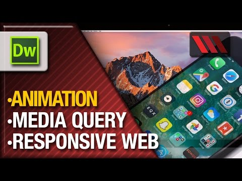 Adobe Dreamweaver - Creating a Responsive CSS (Tutorial by VOXLAB) thumbnail