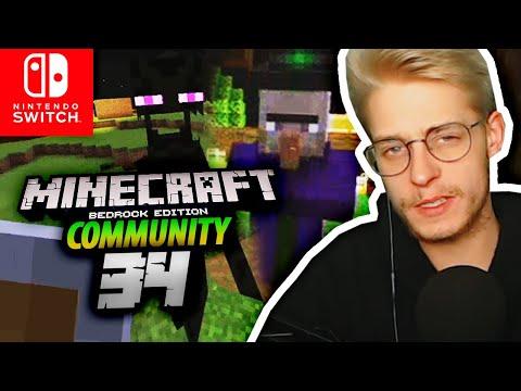REALTALK über Minecraft & Vorbereitung Aufs FINALE! Minecraft Community Bedrock Switch Part 34