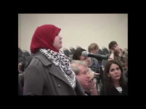 Muslim Student Challenges Jewish Professor, He Shuts Her Up On The Spot