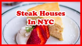 5 Best Steakhouses In New York City | US Restaurant Guide