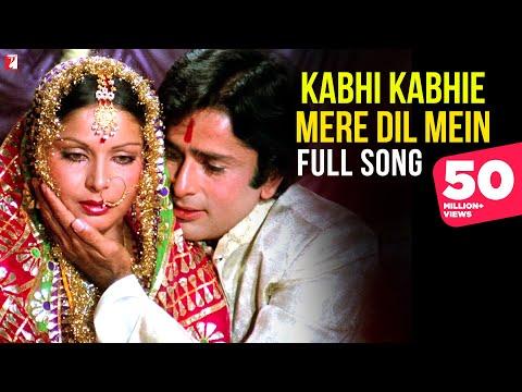 Kabhi Kabhie Mere Dil Mein (Female) - Full Song | Kabhi Kabhie | Shashi Kapoor | Rakhee