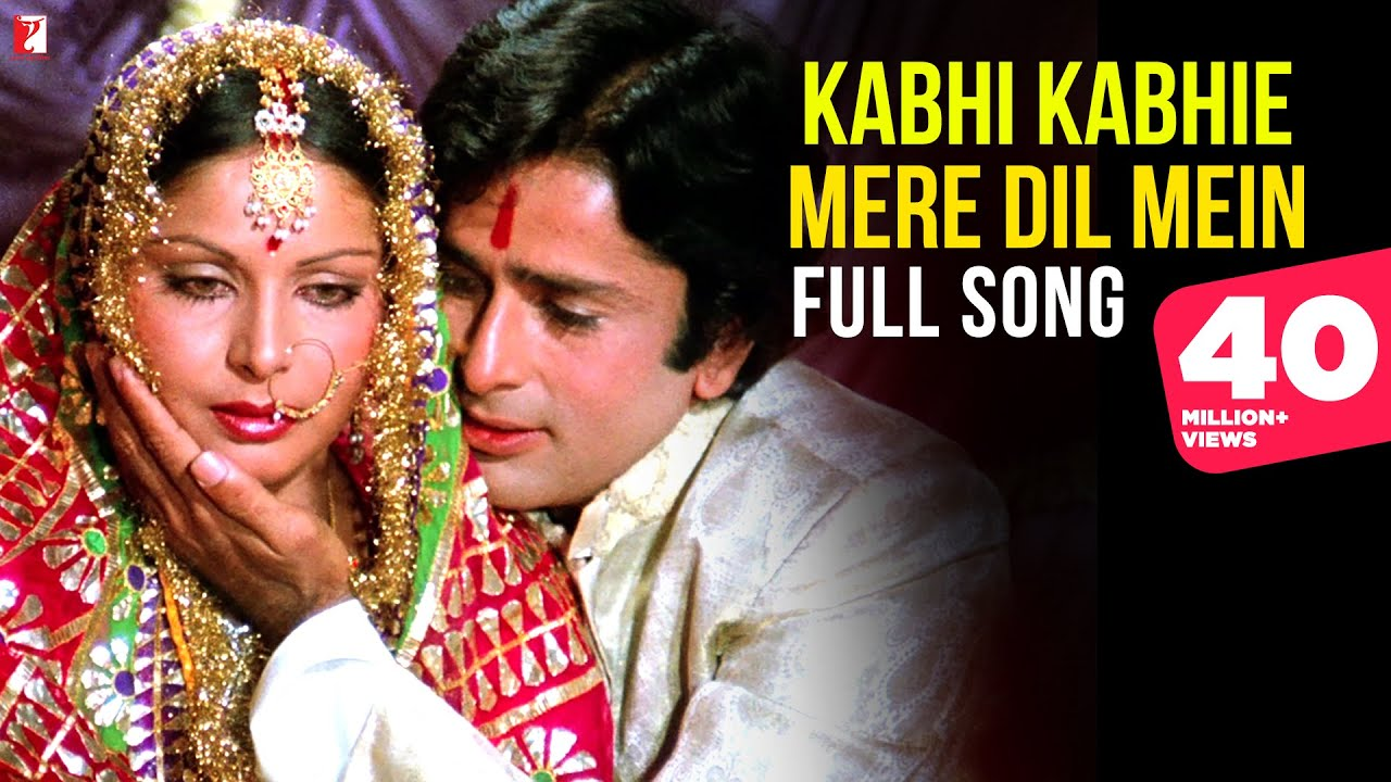 Download Kabhi Kabhie Mere Dil Mein (Female) Song HD | कभी कभी मेरे दिल | Kabhi Kabhie | Shashi, Rakhee, Lata