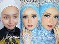Korean Makeup Look Hijab | Ayyunazzuyyin & Luxeventplanner