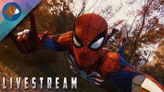 SPIDER-MAN PS4 Walkthrough Gameplay Live Stream Part #1