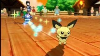 Pokemon Sun and Moon Festival Gameplay - E3 2016