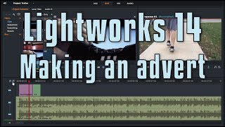 Lightworks 14 - Making a intro / advert