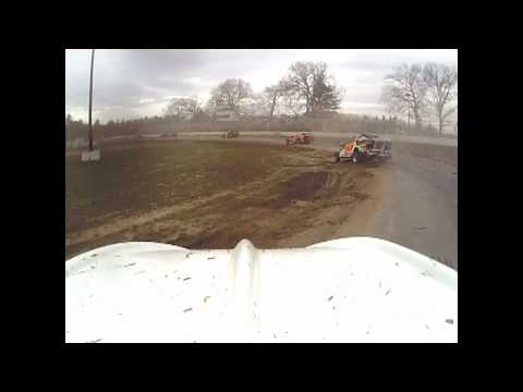 Albany Saratoga speedway practice on board a Dirt Modified Stock Car, back to dirt!
